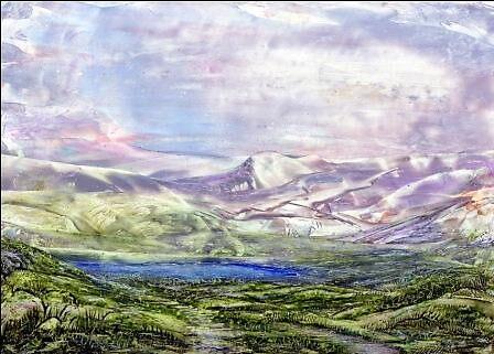 Mountain Lake by Pam Amos