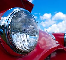 1954 Triumph TR-2 by Jim Butera