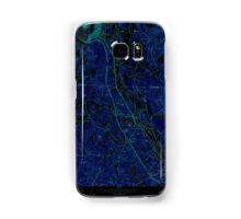 Massachusetts  USGS Historical Topo Map MA Nashua South 350345 1965 24000 Inverted Samsung Galaxy Case/Skin