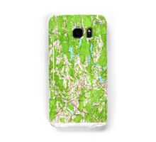 Massachusetts  USGS Historical Topo Map MA Webster 350688 1953 24000 Samsung Galaxy Case/Skin