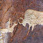 Hunting Buffalo by David Lee Thompson