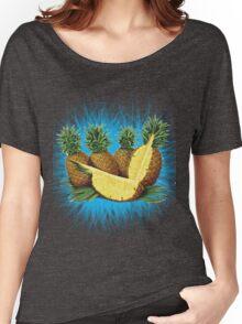 Art Pinapple Kids Tshirt Women's Relaxed Fit T-Shirt