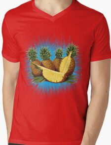 Art Pinapple Kids Tshirt Mens V-Neck T-Shirt