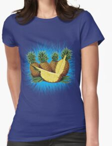 Art Pinapple Kids Tshirt Womens Fitted T-Shirt