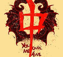 YOU OWE ME AWE 2 by FandomizedRose