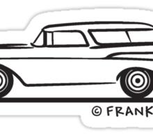 1957 Chevrolet Nomad Bel Air Sticker