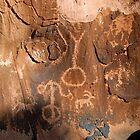 Arizona Strip Petroglyphs by David Lee Thompson
