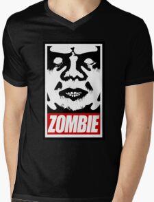 zOmBEY Mens V-Neck T-Shirt