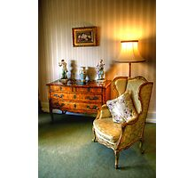 Sitting Room in The Heights, Geelong Photographic Print