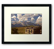 Shane's Cabin Framed Print