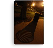 garbage shadow Canvas Print