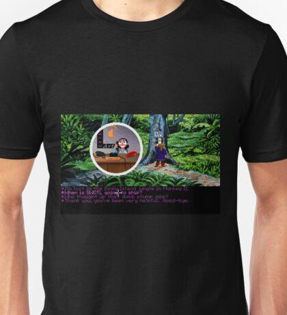 Lucas Arts call center (Monkey Island 2) Unisex T-Shirt