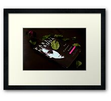A Book Should Serve as the Ax for the Frozen Sea Within Us Framed Print