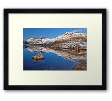 A Touch of Snow Framed Print