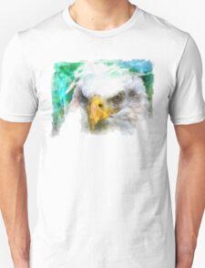 Abstract Bald Eagle Unisex T-Shirt