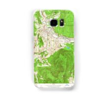 Massachusetts  USGS Historical Topo Map MA Williamstown 350751 1960 24000 Samsung Galaxy Case/Skin
