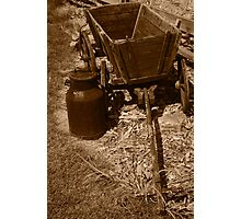 Antique  Wagon Photographic Print
