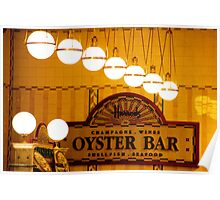 Oyster Bar Poster