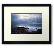 Cloudy Morning Framed Print