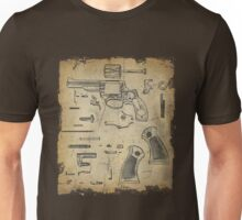 Revolver - Exploded View Unisex T-Shirt