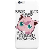 Jigglypuff - Face Of Mercy iPhone Case/Skin