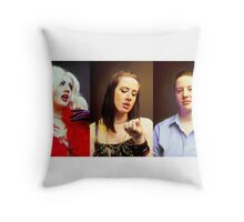 She's a Mystery to Me  Throw Pillow