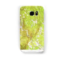 Massachusetts  USGS Historical Topo Map MA Woronoco 350789 1951 24000 Samsung Galaxy Case/Skin