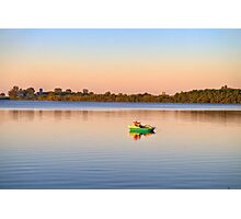 Lone Fisherman Photographic Print