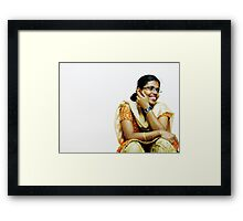 Favourite Pose Framed Print