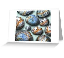 blue rocks  Greeting Card