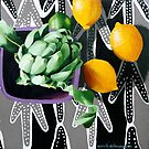Actichoke, Lemons and Lime by Sarah  Edmondson