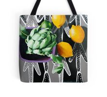 Actichoke, Lemons and Lime Tote Bag