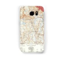 Massachusetts  USGS Historical Topo Map MA Blue Hills 350863 1954 25000 Samsung Galaxy Case/Skin