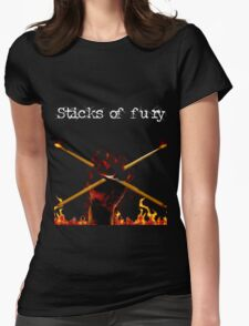Sticks of fury Womens Fitted T-Shirt