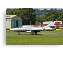 Hawker Hunter XL577 fighter Canvas Print