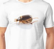 """Cockchafer or june beetle """"Amphimallon solstitialis"""" species isolated on white background Unisex T-Shirt"""