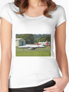 Hawker Hunter XL577 fighter Women's Fitted Scoop T-Shirt