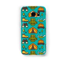 Camping Pattern Samsung Galaxy Case/Skin