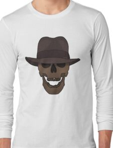 Deceased Indiana Jones (PNG) Long Sleeve T-Shirt