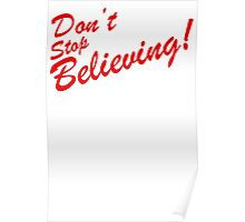 Dont Stop Believing Unicorn Poster