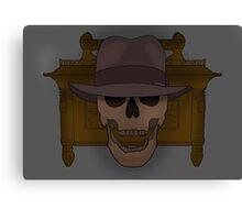 Deceased Indiana Jones  Canvas Print