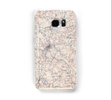Massachusetts  USGS Historical Topo Map MA Quinsigamond 353208 1908 125000 Samsung Galaxy Case/Skin