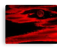 PLANET IN FURY!!!  ENIGMA!! Canvas Print