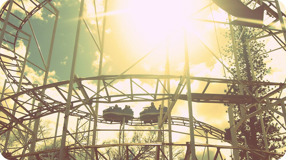sunny coaster by Mellestopher