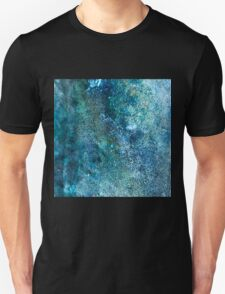 Abstract blue scales Unisex T-Shirt