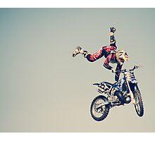"""I think I'll try defying gravity"" Photographic Print"
