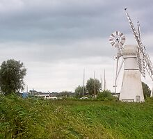 Thurne Windmill by Lynne Morris