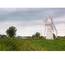 Thurne Windmill Photographic Print