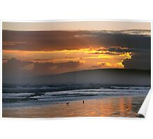 Sunset over Encounter Bay Poster