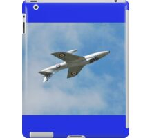 Hawker Hunter jet inverted iPad Case/Skin